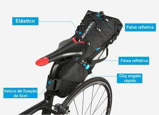 Mochila De Selim Alforge Bike Packing Cicloturismo Viagem