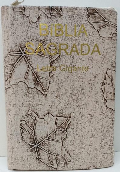 Bíblia Letra Gigante - Ra -zíper - Folha Marfim