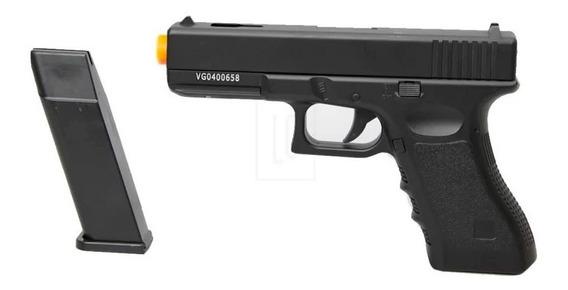 Pistola Airsoft Spring Vigor Glock Gk-v20 Full Metal - 6mm