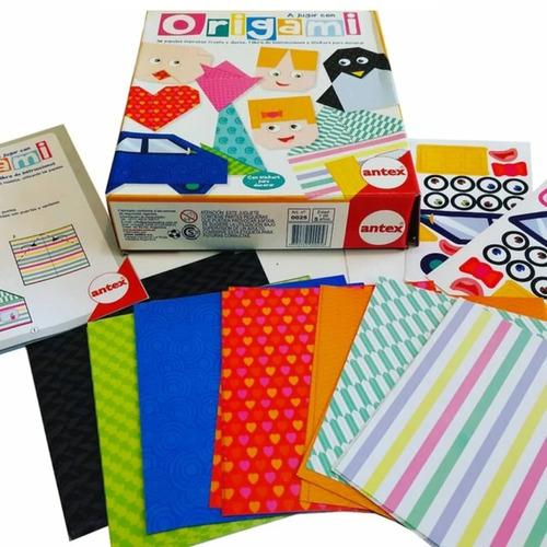 Origami Arte Japones Papel Antex 0025 Manualidades Edu