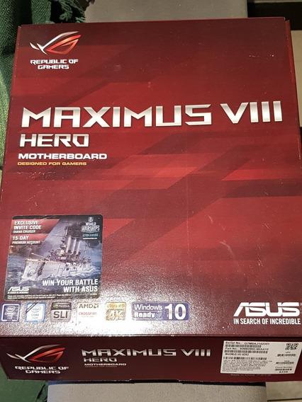 I7 6700k Delid + Z170 Asus Maximus Viii Hero