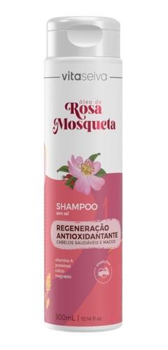 Shampoo Rosa Mosqueta Lançamento 300ml Vs