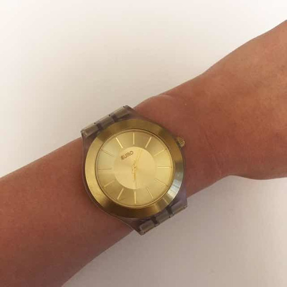 Relógio Analógico Euro