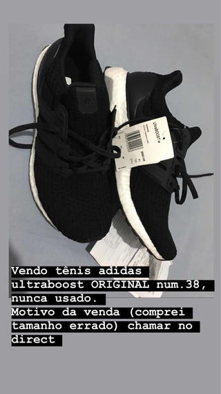 Tênis Original adidas Ultraboost Nº 38