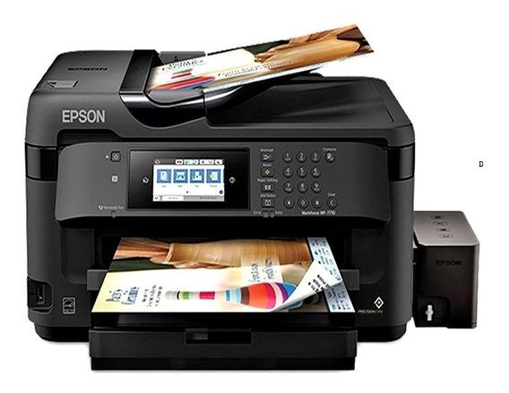 Impresora Epson A3 Wf 7710 Duplex Mejor Que L380 L3110 L4150