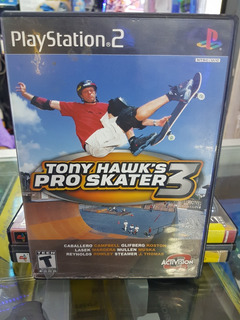 Juego Ps2 Tony Hawk S Pro Skater 3 Semi-nuevo Original