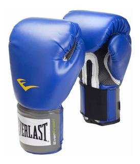 Guantes Boxeo Everlast Box Pro Style Funda Regalo Kick Boxing