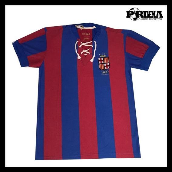 Camisa Em Homenagem A Fundação Do Barcelona - 1899