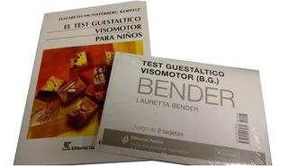 Test Guestaltico Visomotor Para Niños Y Laminas Bender