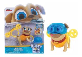 Puppy Dog Pals Rolly Buceador Juguete Con Luz