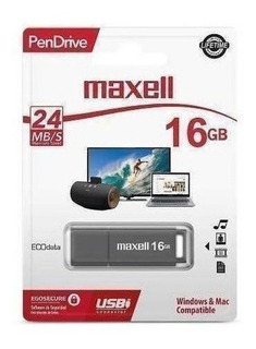 Pendrive Maxell Sil 16gb / Superstore