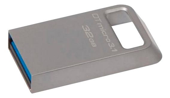 Pen Drive Usb 32gb Micro 3.1 Datatraveler Kingston