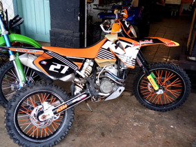 Moto Trilha Ktm 250 Exc 2003 Partida Elétrica/pedal