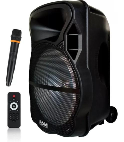 Caixa De Som Amplificada Cam 800 Bt 800w Bluetooth Microfone