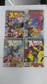 X-men Adventures 1995 Ed Abri Lote Completo 4 Hqs (gibis)