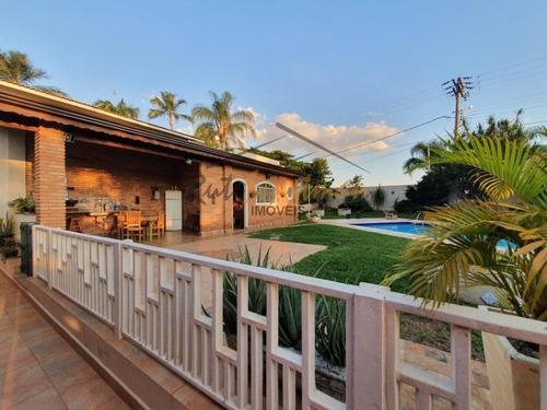 Casa Com 4 Dormitórios À Venda, 270 M² Por R$ 1.600.000,00 - Jardim Santa Genebra Ii (barão Geraldo) - Campinas/sp - Ca3651