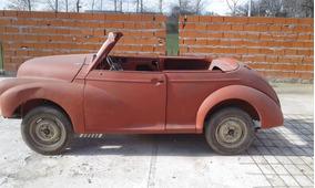 Morris Cabriolet Sin Mecanica Ni Papeles
