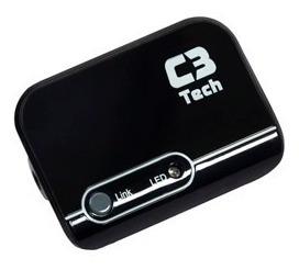 Receptor De Musica Bluetooth C3tech Para Carros, Smartphones