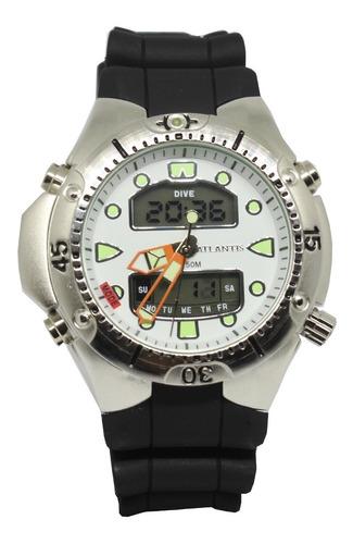 Relógio Atlantis Original Esportivo Prova D'água Barato Top