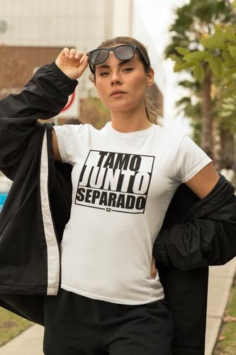 Camiseta Sr Tamo Junto Separado Branca