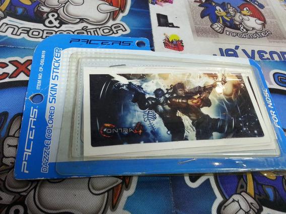 Adesivo Nintendo Ds Contra 4 Konami