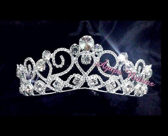 Coroa De Strass Para Noiva E Festa Cr25ra-a