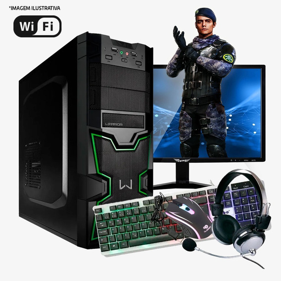 Pc Gamer Core I5, 8gb Ram, Gtx 550ti, Hd 1tb Completo