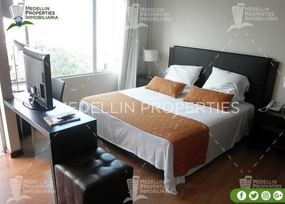 Apartamentos Amoblados Economicos En Medellín Cód: 4264