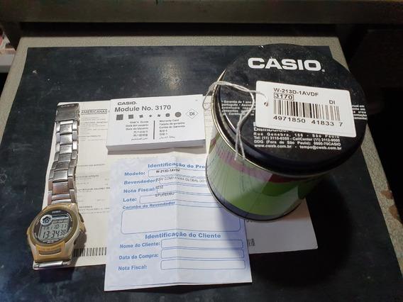 Relógio De Pulso Masculino Casio W213d-1avdf (illuminator)