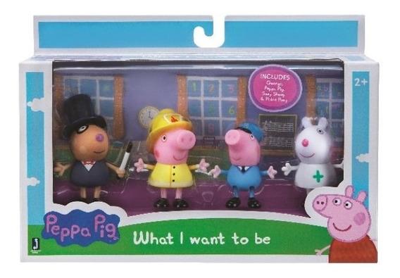 Peppa Pig - Familia/ Amigos 4 Personajes