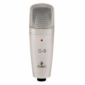 Microfone C/ Fio Condensador - C 3 Behringer Nota/garantia