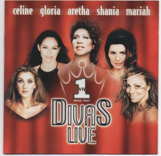 Cd Divas Live Vh1 - Celine Dion-mariah Carey-shania Twain