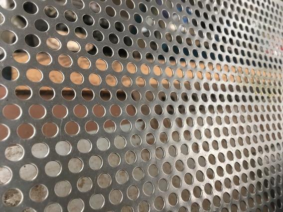 Proteção Para Caixas De Som Chapa Perfurada Aço Carbono