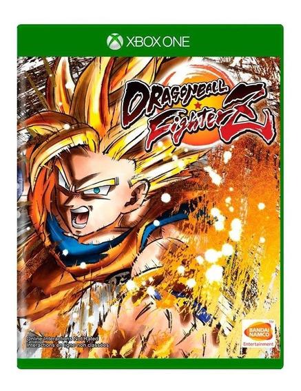 Dragon Ball Fighterz Xbox One Mídia Física Pronta Entrega