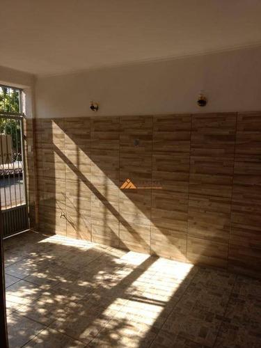 Casa À Venda, 104 M² Por R$ 320.000,00 - Vila Tibério - Ribeirão Preto/sp - Ca2472