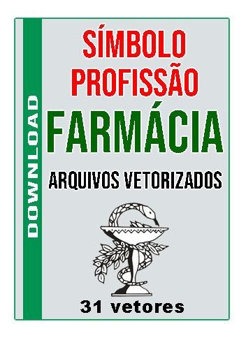 Simbolo Profissão Farmácia - 30 Vetores Corel Draw Editaveis