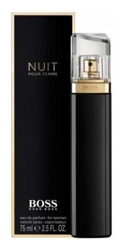 Perfume Nuit Hugo Boss 75 Ml. Para Mujeres