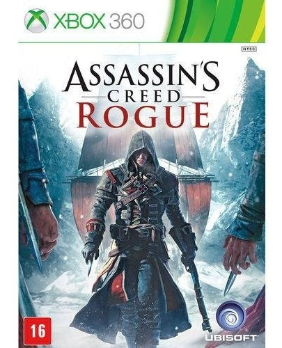 Jogo Assassins Creed Rogue - X360 Original Seminovo