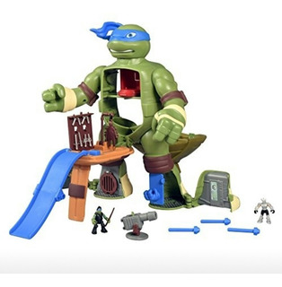 Tortugas Ninja Micro Mutantes Transforma Ataque Sorpresa