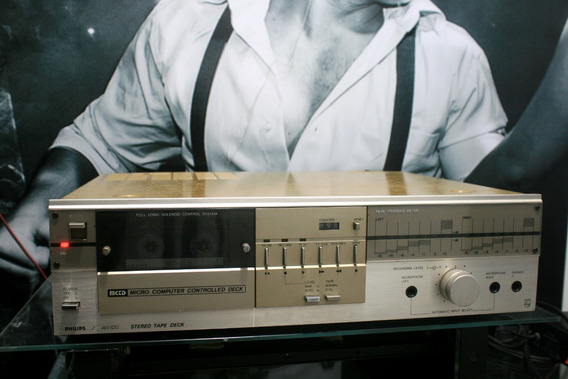 Tape Deck Philips Aw-620