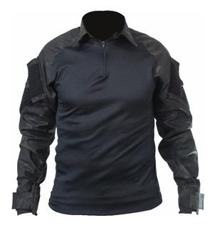 Camisa Combat Shirt Camuflada Multicam Airsoft Paintball