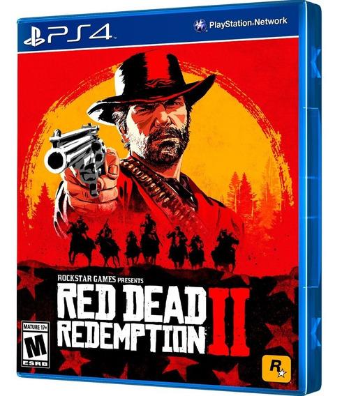 Jogo Red Dead Redemption Ii Ps4