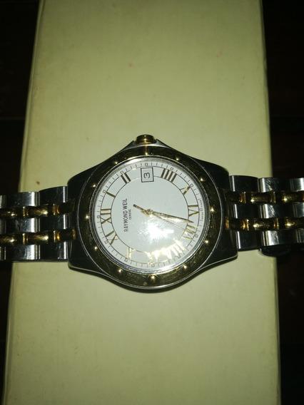 Reloj Raymond Well Tango /acero Oro