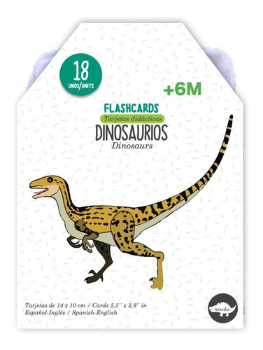 Flash Cards Dinosaurios - Kocodío