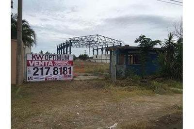 Excelente Terreno De 8000 M2, Con Construcción Y Estructura Para Nave Industrial, Ubicado En Corredor Industrial De Altamira, Tamaulipas, Con Estratégica Ubicación Para Desarrollo Industrial, Constru