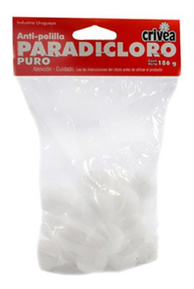 Anti-polilla Paradicloro Benceno 186g