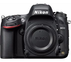Câmera Profissional Dslr Nikon D610 Corpo Nota Fiscal