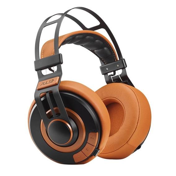 Fone De Ouvido Headphone Premium Bluetooth Laranja Pulse