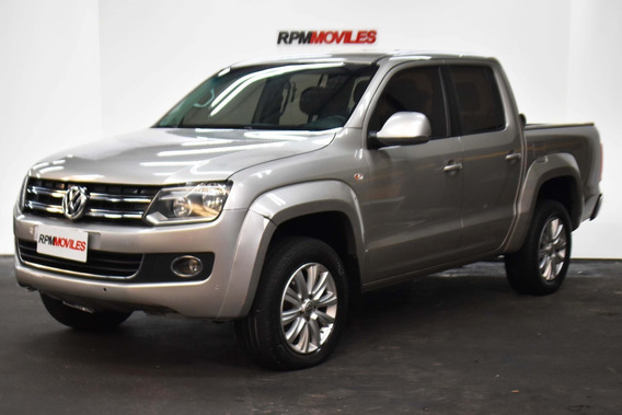 Volkswagen Amarok 2.0 Cd Tdi 4x4 Highline Pack At 2015 Rpm