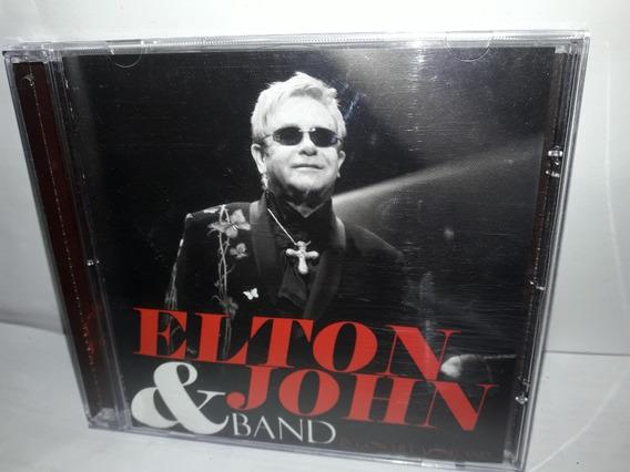 Cd Elton John & Band Ler Mais...